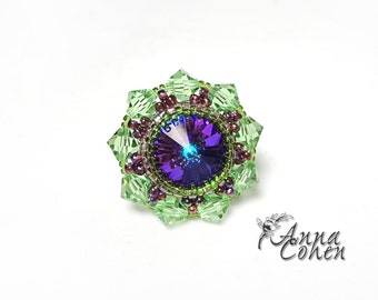 Vitral ring FREE SHIPPING