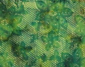 Lemon Lime Lace Batik Gypsy Wrap, size M Gypsy Wraps by Julie Bartel