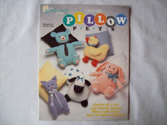 Crocheted Stuffed Animal Pillow Pets needlecraft shop 921317