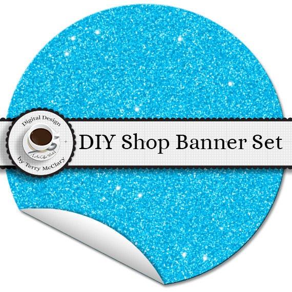 Etsy Shop Banner Graphics Set