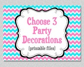 Party Package - Choose Any 3 Items