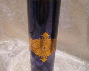 Stockmeyer Shortbread Cookie Tin - Purple with Gold Detail