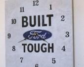 Built Ford tough wall clock