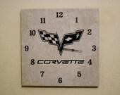 New corvette wall clock