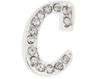 Letter C Tag Pin Brooch Pin 1012303