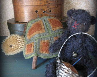 Turtle and Truffle Sewing Companions E-PATTERN by cheswickcompany