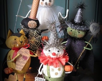 Trick or Treaters Group 3 E-PATTERN by cheswickcompany