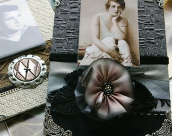 Decorative Picture Frame, Shades of Grey, Gray, Black, for your photo