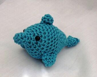 Mini amigurumi dolpin PDF crochet pattern
