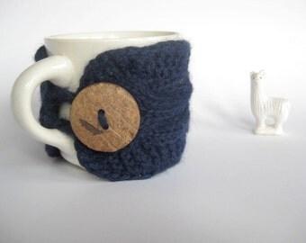 Alpaca Mug Cozy  Cup Cozy