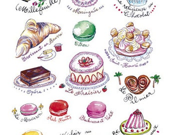 Popular items for illustration kitchen on Etsy