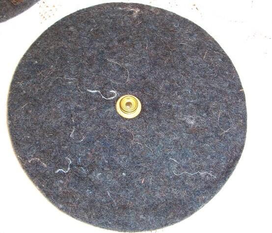 Vintage Hoover Floor Polisher Scrubber Felt Buffing Pads