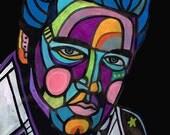 60% Off- Elvis Presley Art  Art Print Poster by Heather Galler (HG400)