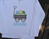 Easter Egg Wagon Shirt or Onesie