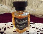 VIntage 50s 60s MInature French Parfum Bottle by Miss Balmain Paris