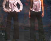 Donna Karan New York Vogue American Designer Top, Jacket and Pants Sewing Pattern No V2923 -  Size 12-14-16-18