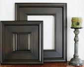 16x24 Picture Frame / Black Walnut on Plein Air