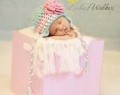 Baby Hat PATTERN , Newborn Hat Pattern, Perfect Earflap Hat Pattern, Newborn - Permission to Sell Finished Items