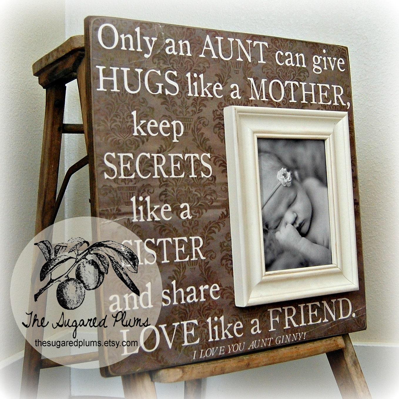 Aunt Uncle Auntie Aunt Gift Uncle Gift Aunt Picture
