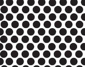 Too Cute To Spook Dot Black by Bella Blvd for Riley Blake, 1/2 yard