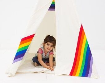 Play Teepee Tent - Secret Rainbow