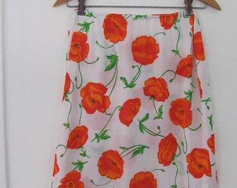 The Orange Poppies Warner's Half Slip