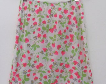 The Pink Strawberries Warner's Half Slip