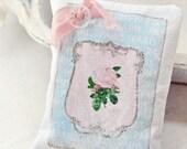French Lavender Shabby decorative sachet Paris