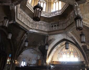 Central view- Fallen Church photography