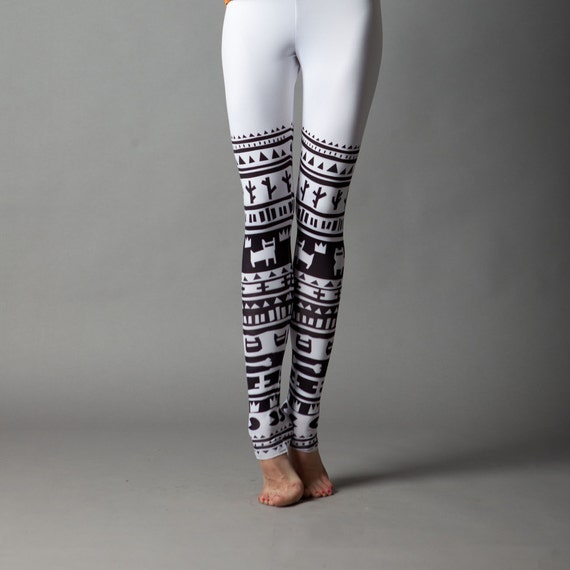 Tribe days 10% Sale - White Tribe leggings