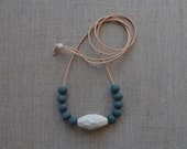 Faceted Stone Necklace...