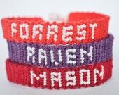 Tiny Custom Name Friendship Bracelet