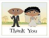 Fall Wedding Thank You Notes