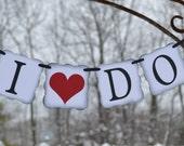 """Wedding Banner """"I DO"""""""