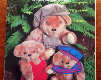 Teddy Bears Wardrobe GP-488 by Nancy Southerland-Holmes booklet 1984