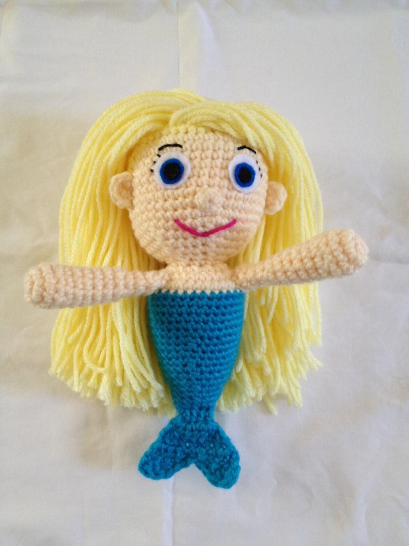 Amigurumi Hello Kitty Crochet Pattern : Mermaid Girl Crochet Pattern Amigurumi PDF