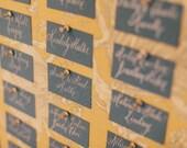Resered for Marie-Danielle: Custom Escort Envelope Calligraphy