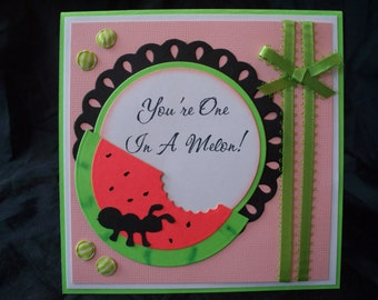 All Occasion/Blank Card  --  Handmade Cards by Cynthia  --  3D  --  INSIDE & OUTSIDE  (#241)
