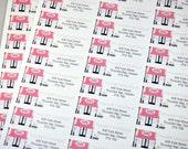 Choose your Design Return Address Labels, Set of 30