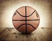 Vintage Basketball on Wood  Photo print, Boys Room decor, Boys Nursery Ideas, Sports art, Sport Prints, Man Cave