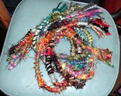 Buy 3, Get 1 Fuzzy Raggedy Hippie Hair Wraps, Dreadlock Extensions, Dread Falls