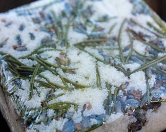 Rosemary Lavender Bubble Bath Bar