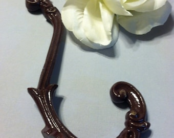 Decorative Hook,  Shabby Chic Hook, Wall Hook