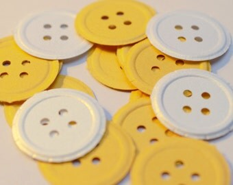 Button Die Cuts Martha Stewart Paper Punches Diecuts Scrapbooking Cardmaking Baby Shower Confetti