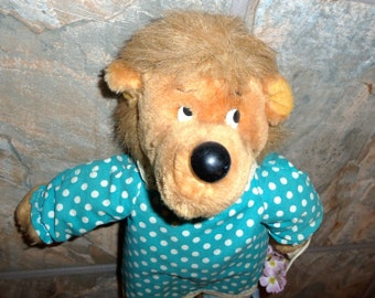 80s Berenstain Bears Mama Bear Stuffed Animal