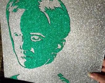 Wizard Bad Boy Glitter Poster Close-Up Witchcraft Wizard