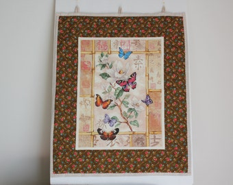 Handmade Wall Hanging Cross Stitch - Butterfly