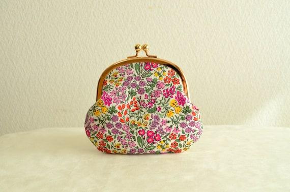 Frame purse - Liberty floral clasp coin purse