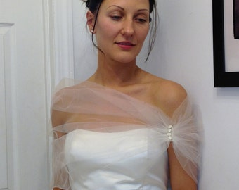Tulle Shrug Shawl Stole Wedding