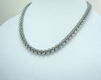 ON SALE Caroline Chainmaille Necklace